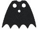 Part No: 35985  Name: Minifigure, Cape Cloth, Short, Scalloped 5 Points (Batman) - Spongy Stretchable Fabric