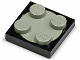 Part No: 3680c01  Name: Turntable 2 x 2 Plate, Complete Assembly with Light Gray Top