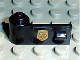 Part No: 3822pb003  Name: Door 1 x 3 x 1 Left with World City Gold Police Badge Pattern (Sticker) - Set 7032