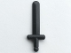Part No: 3847a  Name: Minifigure, Weapon Sword, Shortsword - first version in shiny smooth rigid ABS plastic