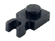 Part No: 4085c  Name: Plate, Modified 1 x 1 with Clip Vertical - Type 3 (thick U clip)