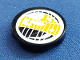 Part No: 4150pb010  Name: Tile, Round 2 x 2 with Headlamp Yellow and Black Pattern (Sticker) - Set 8250