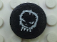 Part No: 4150pb036  Name: Tile, Round 2 x 2 with Space Police 3 Alien Skull Pattern (Sticker) - Set 5980