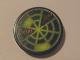 Part No: 4150pb063  Name: Tile, Round 2 x 2 with Neon Green Radar Type 1 Pattern (Sticker) - Set 7691