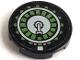 Part No: 4150pb076  Name: Tile, Round 2 x 2 with Ammunition Drum Pattern (Sticker) - Set 7477
