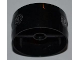 Part No: 41531pb004  Name: Cylinder 4 x 4 x 1 2/3 with Pin Holes and Center Bar with 2 Filler Caps Pattern (Stickers) - Set 7643