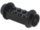 Part No: 4180c01  Name: Brick, Modified 2 x 4 with Wheels, Train Spoked Small (23mm D.) Black