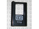 Part No: 4181pb020  Name: Door 1 x 4 x 5 Train Left with 'DB 7715' Pattern (Sticker) - Set 7715