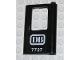 Part No: 4182pb023  Name: Door 1 x 4 x 5 Train Right with 'DB 7727' Pattern (Sticker) - Set 7727