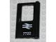 Part No: 4182pb025  Name: Door 1 x 4 x 5 Train Right with British Railways '7722' Pattern (Sticker) - Set 7722