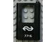 Part No: 4182pb028  Name: Door 1 x 4 x 5 Train Right with Dutch NS '7715' Pattern (Sticker) - Set 7715