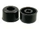 Part No: 41865  Name: Wheel Small Wide Hard Plastic Slick, Hole Notched for Wheels Holder Pin