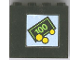 Part No: 4215apb04  Name: Panel 1 x 4 x 3 - Solid Studs with Small Bill & Coins Pattern (Sticker) - Set 1490