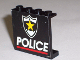 Part No: 4215pb002  Name: Panel 1 x 4 x 3 with Police Red Line and Yellow Star Badge Pattern (Sticker) - Set 6348
