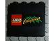 Part No: 4215pb037  Name: Panel 1 x 4 x 3 with LEGO California Pattern (Sticker) - Set 3442