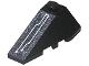 Part No: 43710pb06  Name: Wedge 4 x 2 Triple Left with Circuitry Pattern (Sticker) - Set 7703