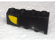 Part No: 43721pb02  Name: Wedge 4 x 2 Sloped Left with Yellow Curve Pattern (Sticker) - Set 8161