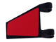 Part No: 44676pb015R  Name: Flag 2 x 2 Trapezoid with Red Pattern, Model Right (Sticker) - Set 8362
