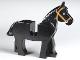 Part No: 4493c01pb07  Name: Horse with Black and White Eyes, White Pupils and Medium Dark Flesh Bridle Pattern