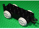 Part No: 4559c02  Name: Duplo, Train Base 2 x 6 with Light Bluish Gray Train Wheels and Moveable Hook
