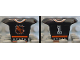 Part No: 47577pb01  Name: Minifigure, Hockey Body Armor with NHL Logo and White Number 1 Pattern
