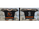 Part No: 47577pb03  Name: Minifigure, Hockey Body Armor with NHL Logo and White Number 3 Pattern
