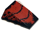 Part No: 47753pb003  Name: Wedge 4 x 4 No Top Studs with Red Scale Pattern