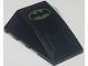 Part No: 47753pb043  Name: Wedge 4 x 4 No Top Studs with Dark Blue Line and Batman Logo Pattern (Sticker) - Set 6860