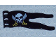 Part No: 51725pb04  Name: Duplo Flag Wavy 2 x 5 with Skull and Crossed Swords Pattern