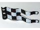 Part No: 51725pb05  Name: Duplo Flag Wavy 2 x 5 with Checkered Pattern