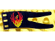 Part No: 51725px3  Name: Duplo Flag Wavy 2 x 5 with Phoenix Pattern