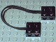 Part No: 5306bc015  Name: Electric, Wire with Brick 2 x 2 x 2/3 Pair,  15 Studs Long