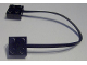 Part No: 5306bc020  Name: Electric, Wire with Brick 2 x 2 x 2/3 Pair,  20 Studs Long