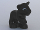 Part No: 54300cx3  Name: Duplo Panther Cub, Raised Paw