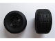 Part No: 56908c03  Name: Wheel 43.2mm D. x 26mm Technic Racing Small, 6 Pin Holes with Black Tire 81.6 x 44 R (56908 / 18450)