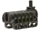 Part No: 57029c01  Name: Technic Competition Cannon, Flat Bottom