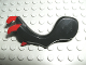 Part No: 59217pb02  Name: Dragon Arm with Dark Red Claws - Left