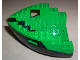 Part No: 6051c04  Name: Boat Hull Small Bow 12 x 12 x 5 1/3 Complete Assembly, Top Color Green