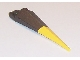 Part No: 61406pb01  Name: Plate, Modified 1 x 2 with Angular Extension and Flexible Yellow Tip