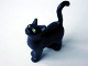 Part No: 6175px2  Name: Cat, Belville / Scala, Standing with Yellow Eyes Pattern