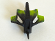 Part No: 61792pb01  Name: Bionicle Mask Felnas with Marbled Lime Pattern