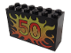 Part No: 6213pb09  Name: Brick 2 x 6 x 3 with Flame 50 Pattern