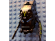 Part No: 64343pb01  Name: Bionicle Mask Tuma (Glatorian), Lime Green Pattern (Stickers) - Set 8991