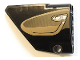 Part No: 64394pb017  Name: Technic, Panel Fairing #13 Large Short Smooth, Side A with Dark Tan Inside Door Pattern (Sticker) - Set 42083