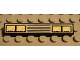 Part No: 6636pb002  Name: Tile 1 x 6 with Headlights and Grille Pattern (Sticker) - Set 8459