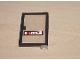 Part No: 73435c01pb03  Name: Door 1 x 4 x 5 Right with Trans-Clear Glass and 'Shell' Pattern (Sticker) - Set 6371