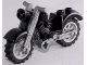 Part No: 85983c02  Name: Motorcycle Vintage, Complete Assembly with Flat Silver Chassis and Light Bluish Gray Wheels