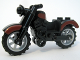 Part No: 85983pb01c01  Name: Motorcycle Vintage with Dark Red Trim, Complete Assembly