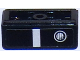 Part No: 85984pb123L  Name: Slope 30 1 x 2 x 2/3 with Chevrolet Camaro Fog Light / Bumper Pattern Model Left Side (Sticker) - Set 75874