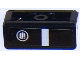 Part No: 85984pb123R  Name: Slope 30 1 x 2 x 2/3 with Chevrolet Camaro Fog Light / Bumper Pattern Model Right Side (Sticker) - Set 75874